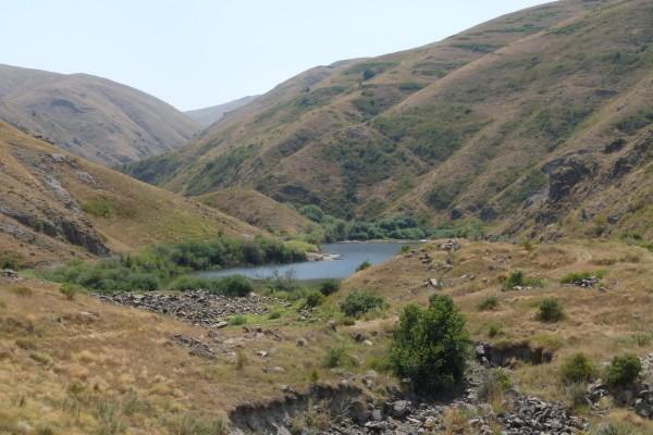 Озеро в окрестностях села Гомк (фото Бурдиной Ольги)