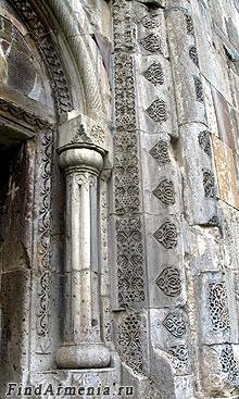 Орнаменты монастыря Гандзасар