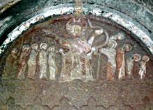 Барельеф с изображением сцены из Библии