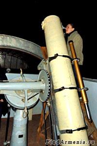 Наблюдение звезд в обсерватории
