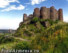 Замок крепости Амберд