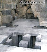 Бани крепости Амберд (XI в.)