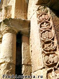 Орнаменты Одзунского монастыря