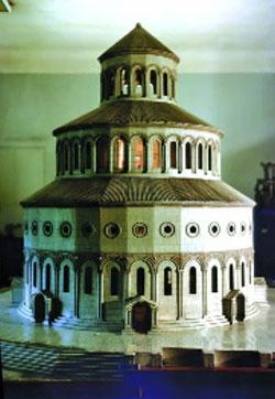 Реконструкция храма Звартноц
