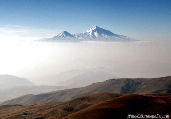 Панорама с вершины горы Арснасар