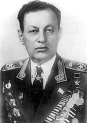 Маршал бронетанковых войск Амазасп Бабаджанян