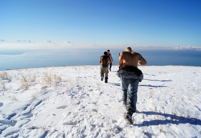 На вершине г. Артаниш (2460м)