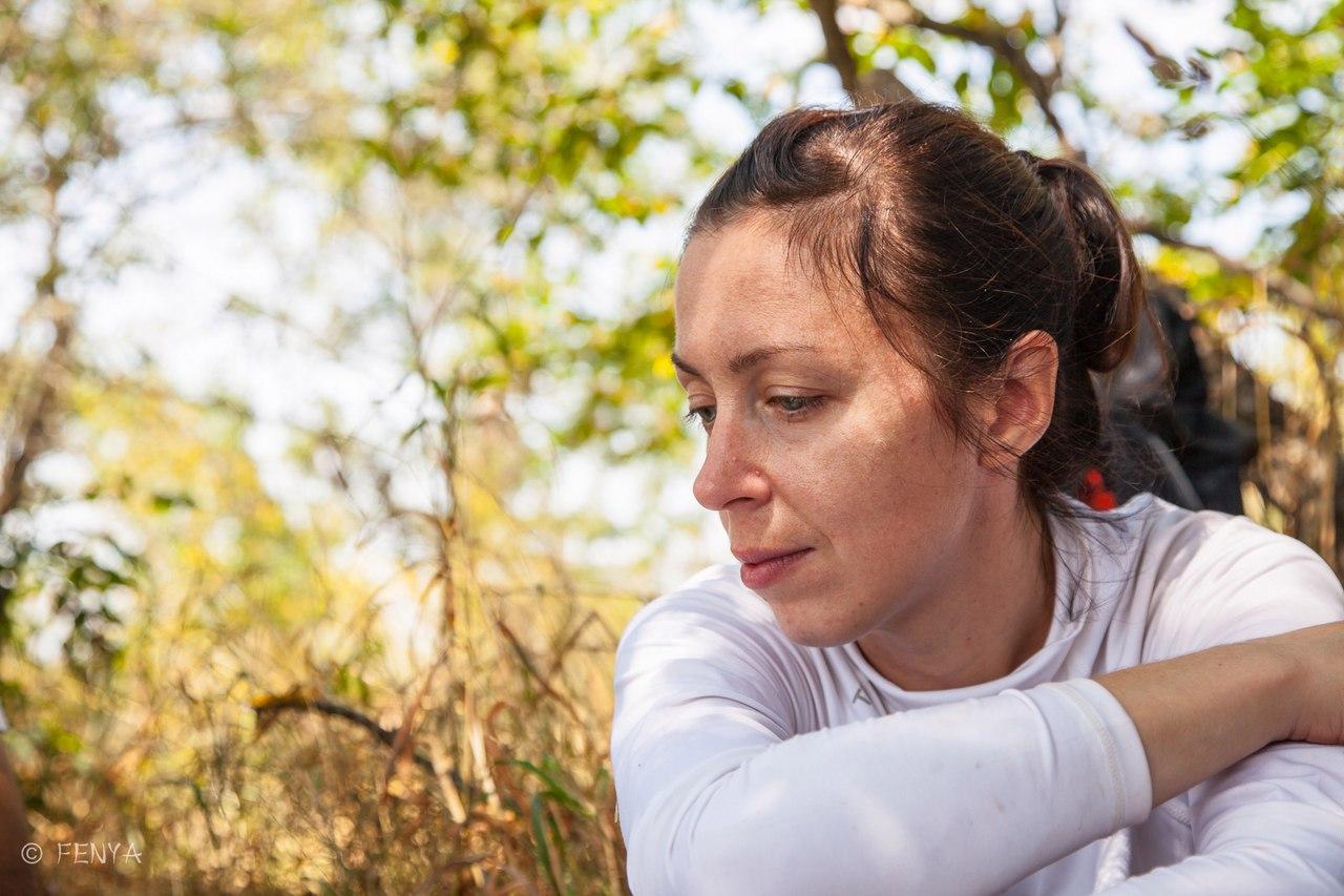 Ксения - женщина мечта! Первый встреченный мной в походе ботаник (то есть тот самый специалист по травкам красивым, о котором я мечтаю в каждом походе), отвечала на все мои вопросы и ни разу не предложила прогулку лесом-полем-огородом :)