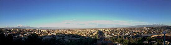 Панорама города Ереван