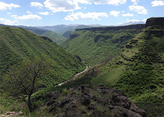 Ущелье реки Дебед