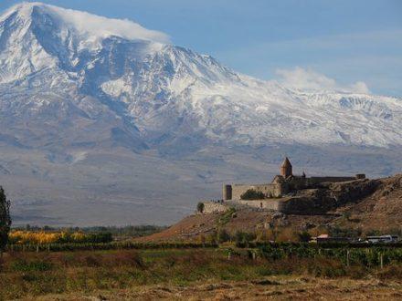 Арарат и монастырь Хор Вирап