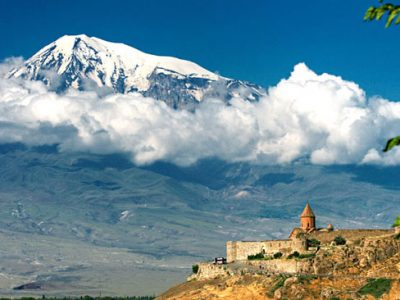 Гора Арарат и монастырь Хор Вирап