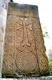 Хачкар в монастыре Агарцин