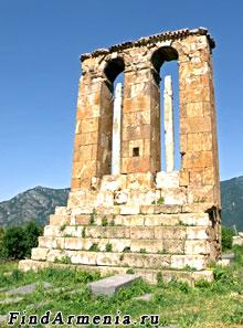 Надгробный обелиск в Одзуне (VI в.)