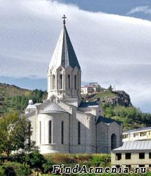 Церковь Казанчецоц в Шуши