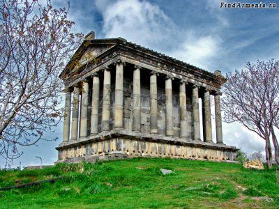 Языческий храм Гарни I в.
