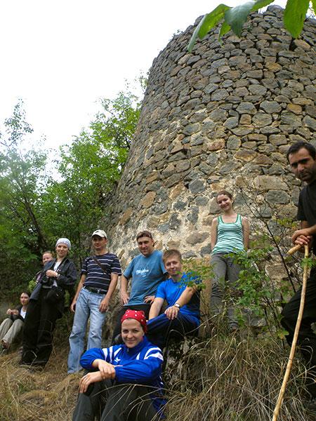 В крепости Ахчкаберд