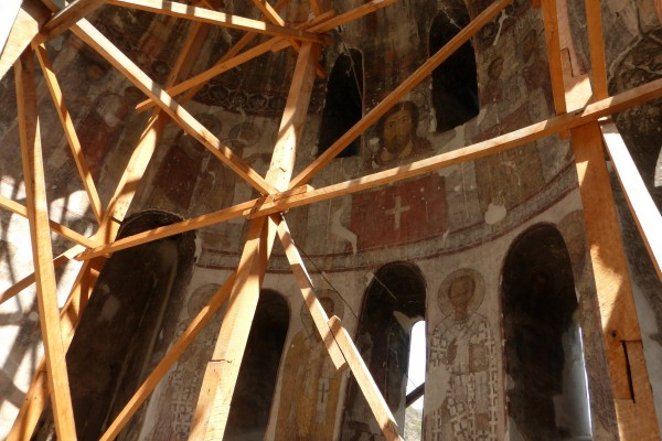 Фрески в монастыре Кобайр (фото Бурдиной Ольги)